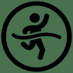 Logotyp för Runners High - en portal om löpning för nybörjare och proffs.